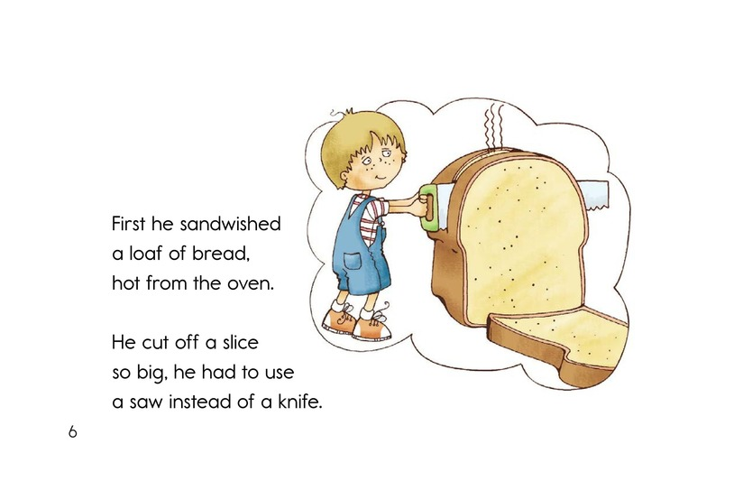 Book Preview For Soup and a Sandwish Page 6