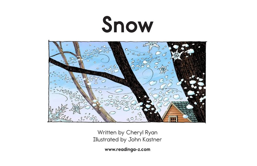 Book Preview For Snow Page 2
