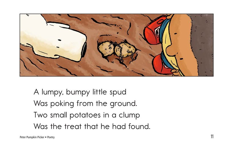Book Preview For Peter Pumpkin Picker Page 11