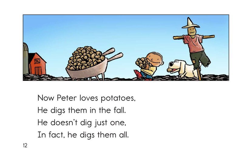 Book Preview For Peter Pumpkin Picker Page 12