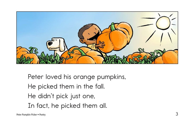 Book Preview For Peter Pumpkin Picker Page 3