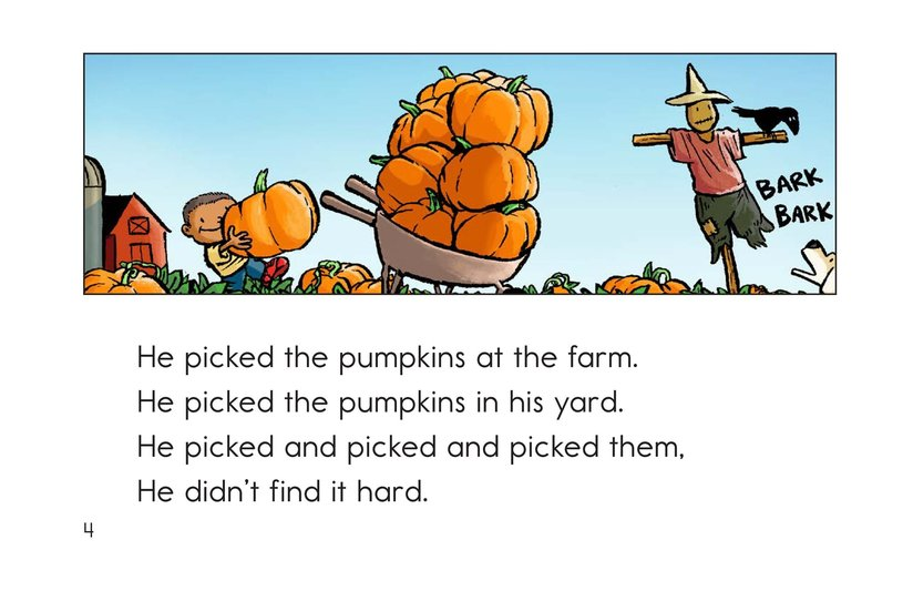 Book Preview For Peter Pumpkin Picker Page 4