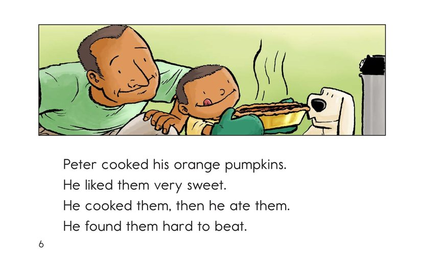 Book Preview For Peter Pumpkin Picker Page 6