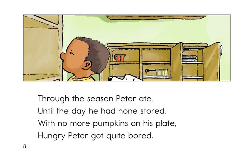 Book Preview For Peter Pumpkin Picker Page 8