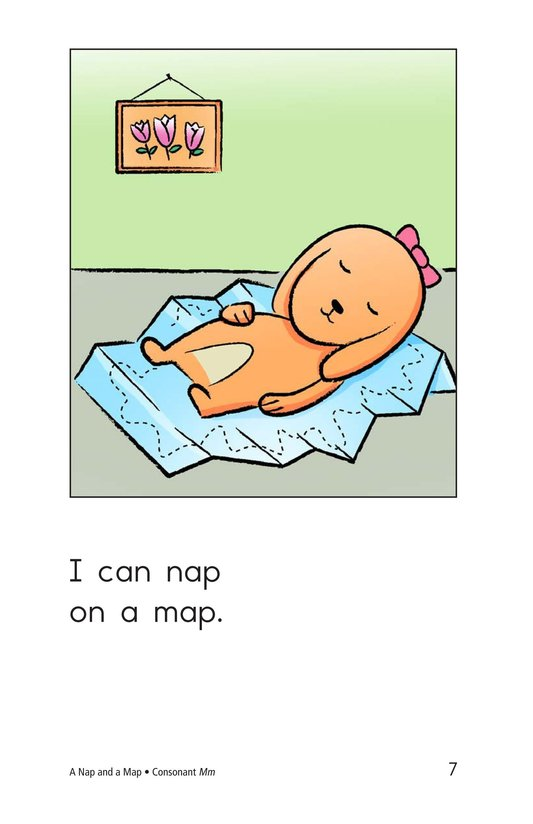 Book Preview For A Nap and a Map Page 7
