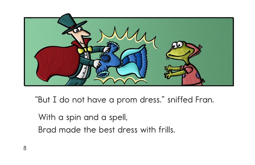 Book Preview For Fran Goes to the Prom Page 8