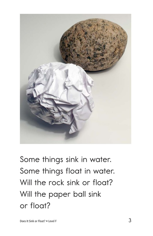 Book Preview For Does It Sink or Float? Page 3