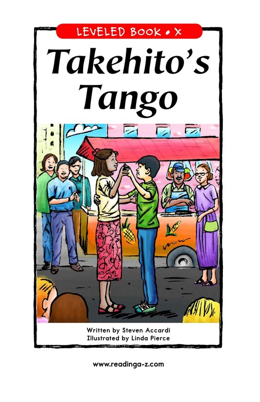 Book Preview For Takehito's Tango Page 1
