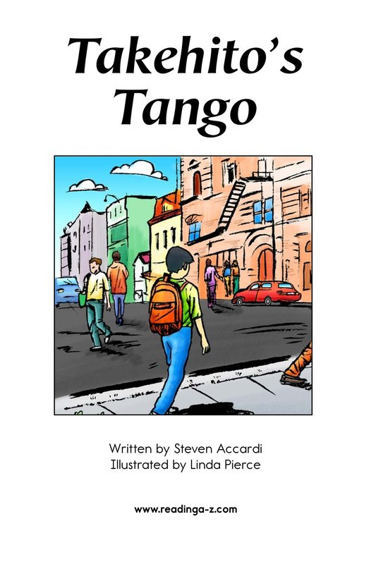 Book Preview For Takehito's Tango Page 2