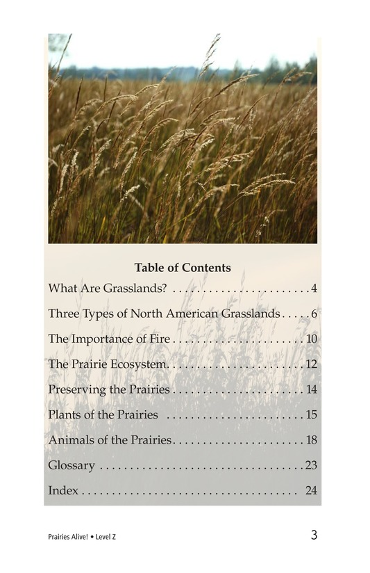 Book Preview For Prairies Alive! Page 3