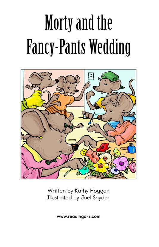 Book Preview For Morty and the Fancy-Pants Wedding Page 2