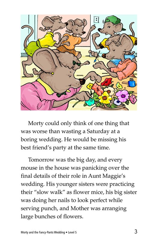 Book Preview For Morty and the Fancy-Pants Wedding Page 3