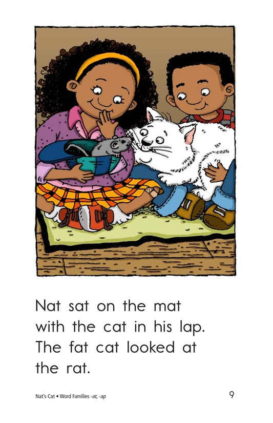 Book Preview For Nat's Cat Page 9