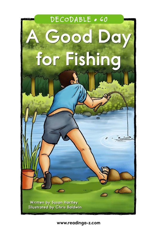 Book Preview For A Good Day for Fishing Page 1