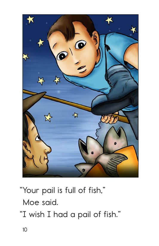 Book Preview For A Good Day for Fishing Page 10