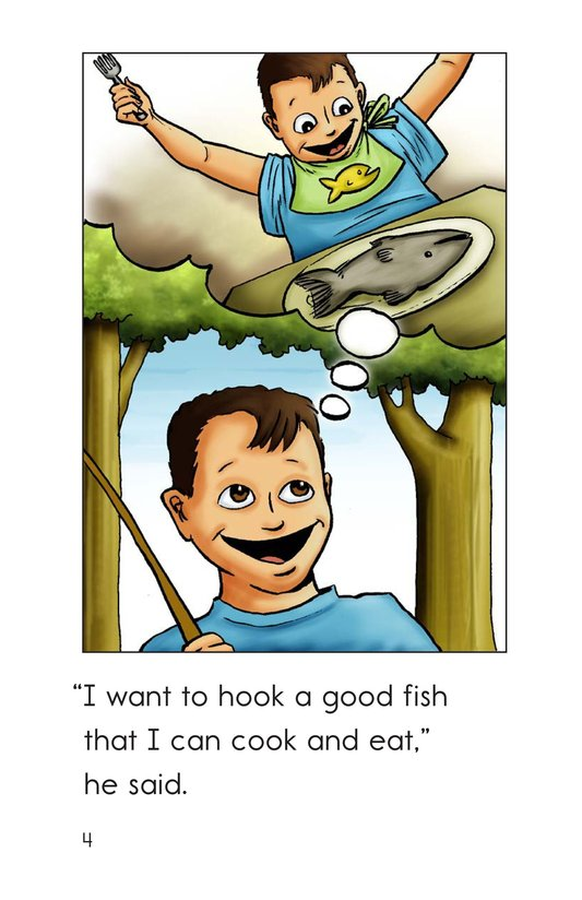 Book Preview For A Good Day for Fishing Page 4