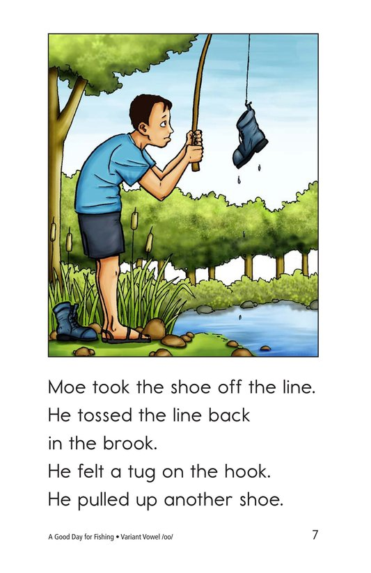Book Preview For A Good Day for Fishing Page 7
