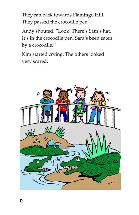 Book Preview For A Visit to the Zoo Page 12