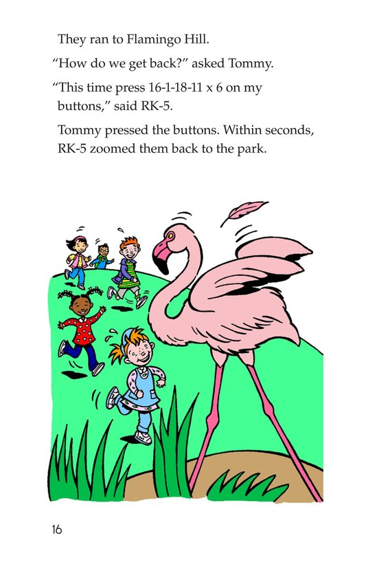 Book Preview For A Visit to the Zoo Page 16