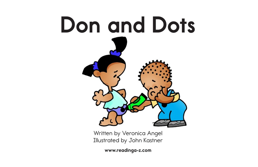 Book Preview For Don and Dots Page 2