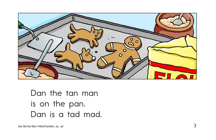 Book Preview For Dan the Tan Man Page 3