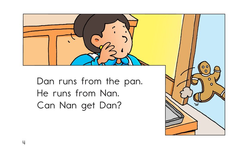 Book Preview For Dan the Tan Man Page 4