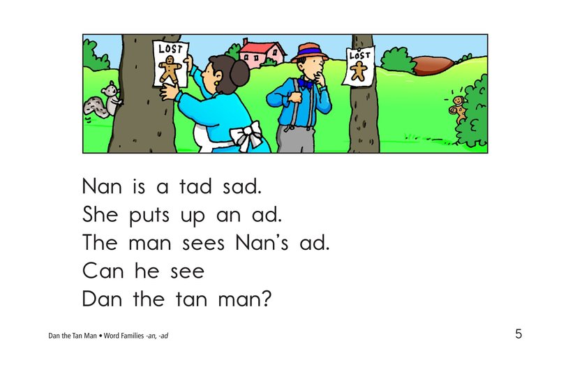 Book Preview For Dan the Tan Man Page 5