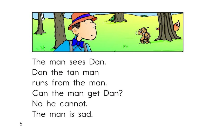 Book Preview For Dan the Tan Man Page 6