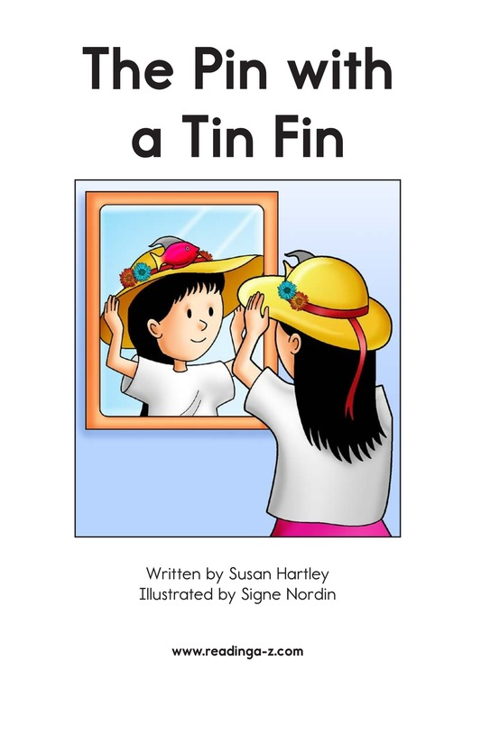 Book Preview For The Pin with a Tin Fin Page 2