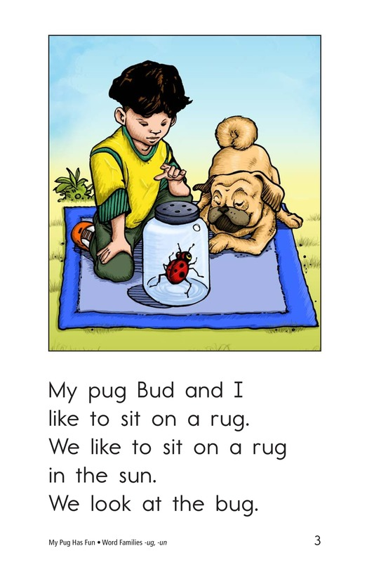 Book Preview For My Pug Has Fun Page 3