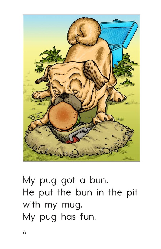 Book Preview For My Pug Has Fun Page 6