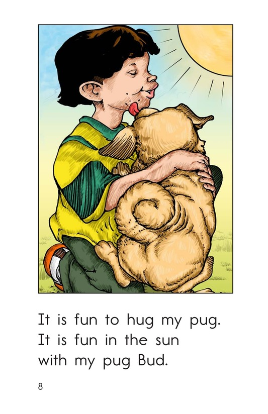 Book Preview For My Pug Has Fun Page 8