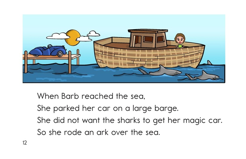 Book Preview For Barb's Sharp Car Page 12