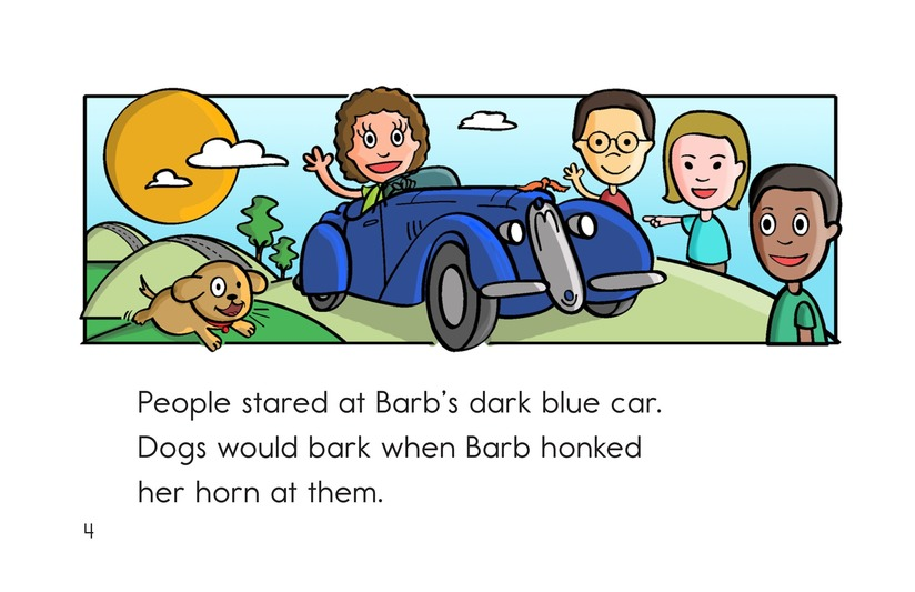 Book Preview For Barb's Sharp Car Page 4