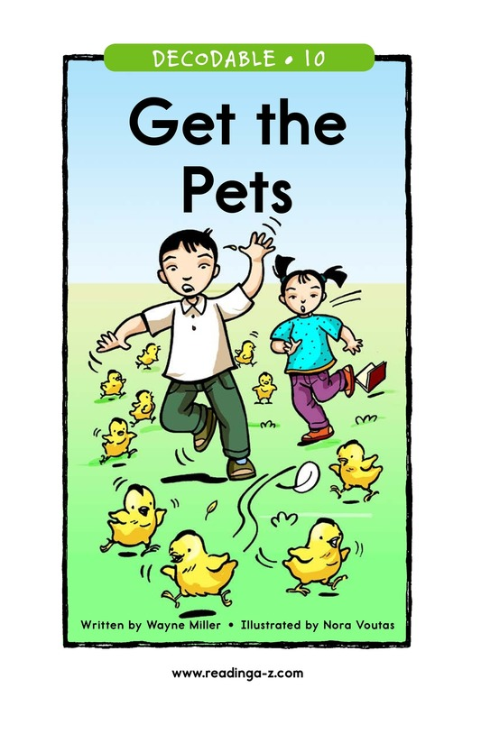 Book Preview For Get the Pets Page 1