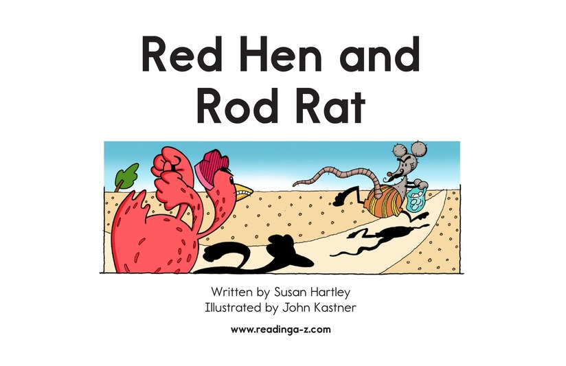 Book Preview For Red Hen and Rod Rat Page 2