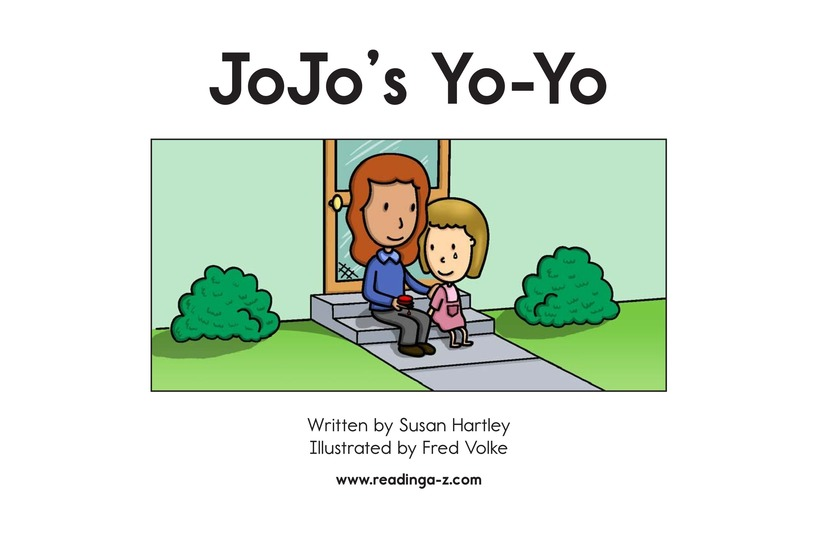 Book Preview For JoJo's Yo-Yo Page 2