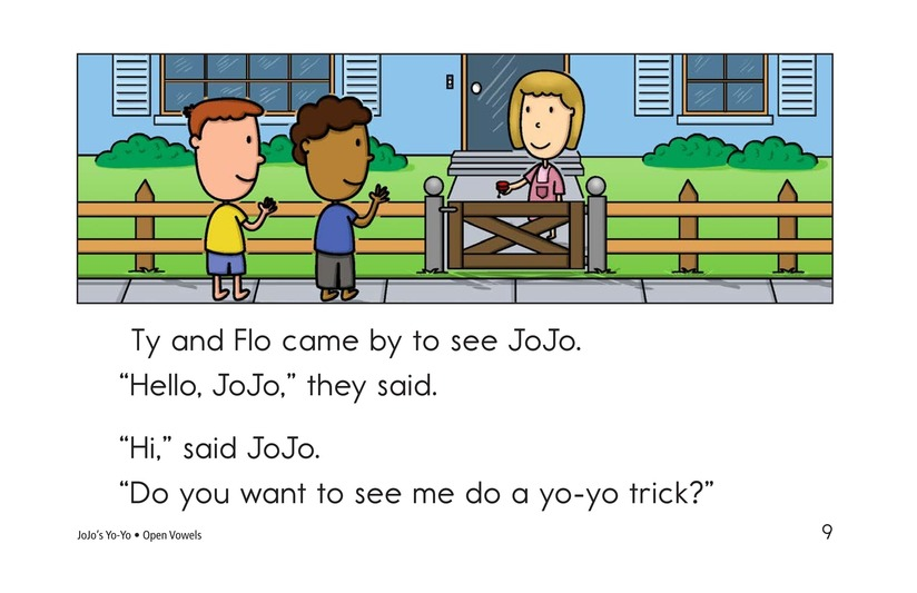 Book Preview For JoJo's Yo-Yo Page 9
