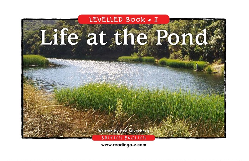 Book Preview For Life at the Pond Page 1