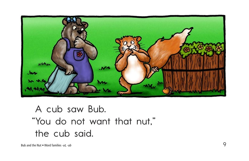 Book Preview For Bub and the Nut Page 9