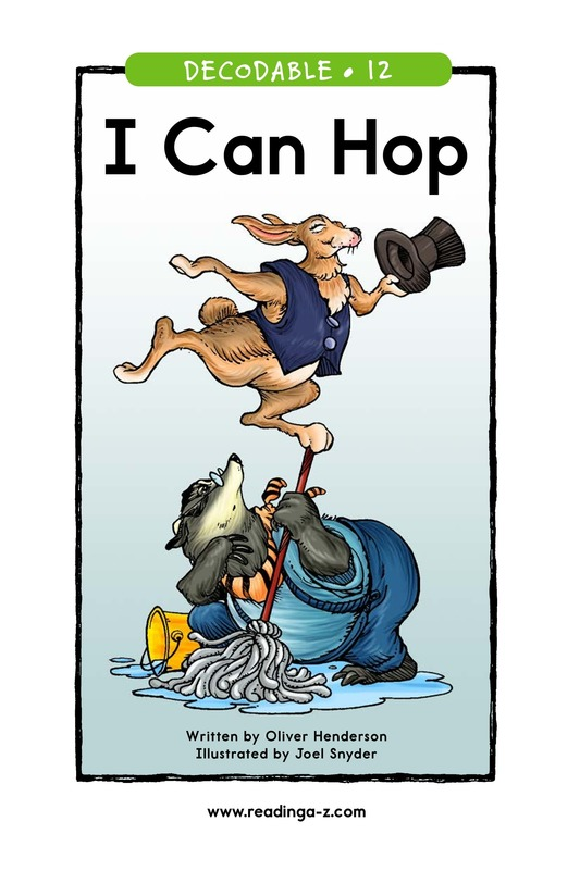 Book Preview For I Can Hop Page 1