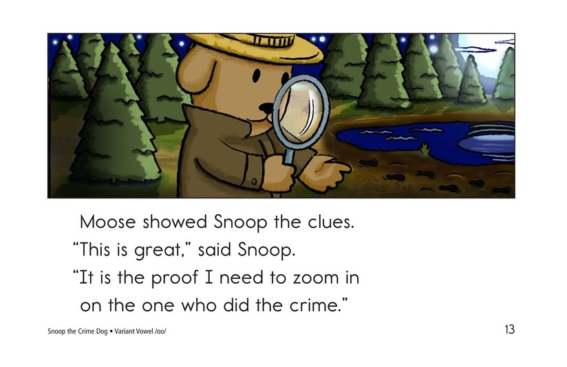 Book Preview For Snoop the Crime Dog Page 13