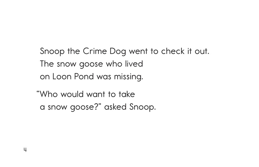 Book Preview For Snoop the Crime Dog Page 4