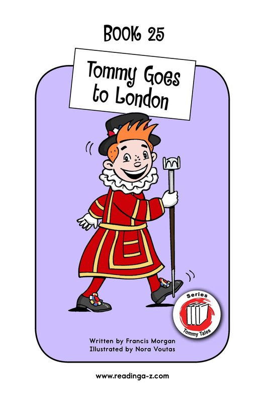 Book Preview For Tommy Goes to London Page 1