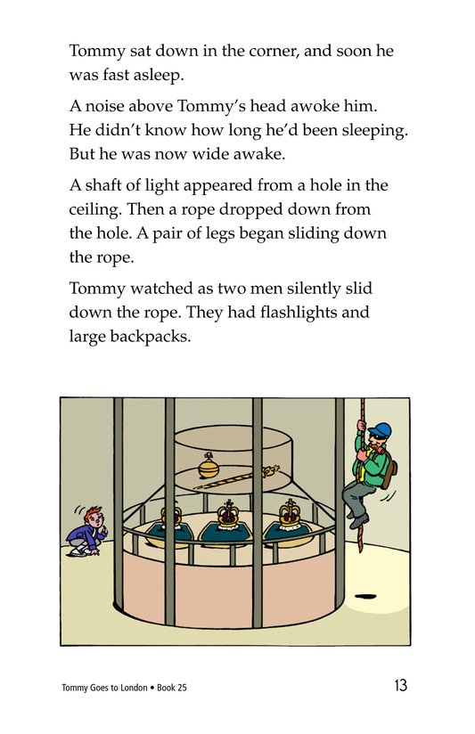 Book Preview For Tommy Goes to London Page 13