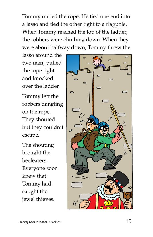 Book Preview For Tommy Goes to London Page 15