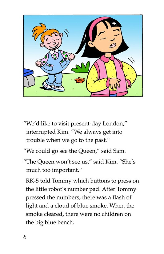 Book Preview For Tommy Goes to London Page 6