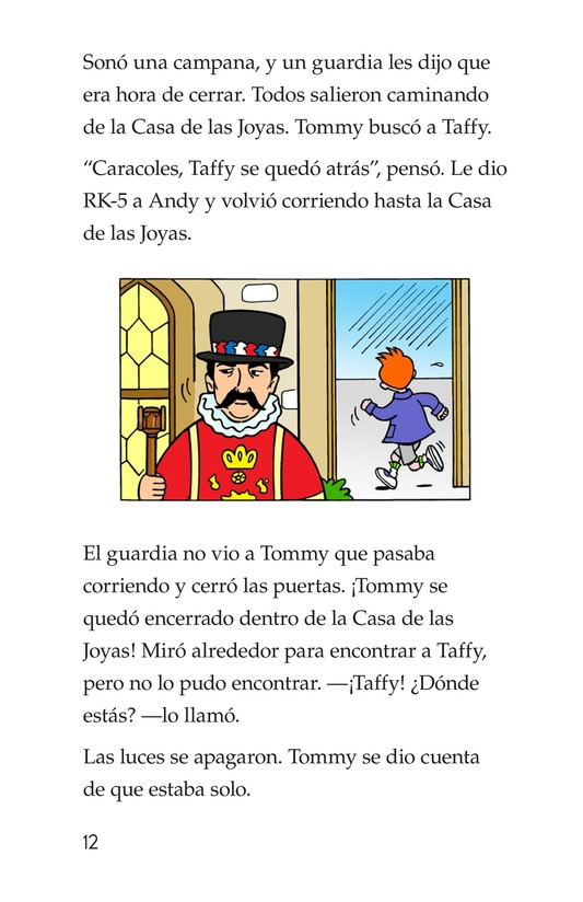Book Preview For Tommy Goes to London Page 12