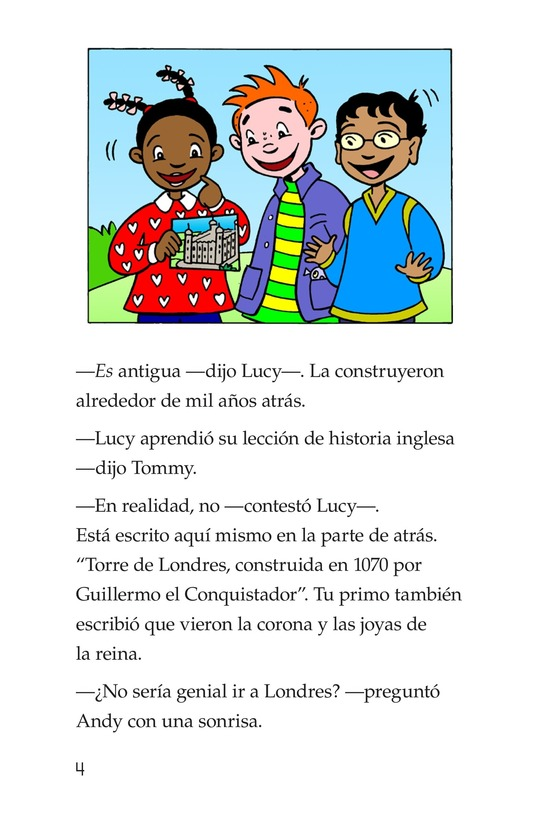 Book Preview For Tommy Goes to London Page 4