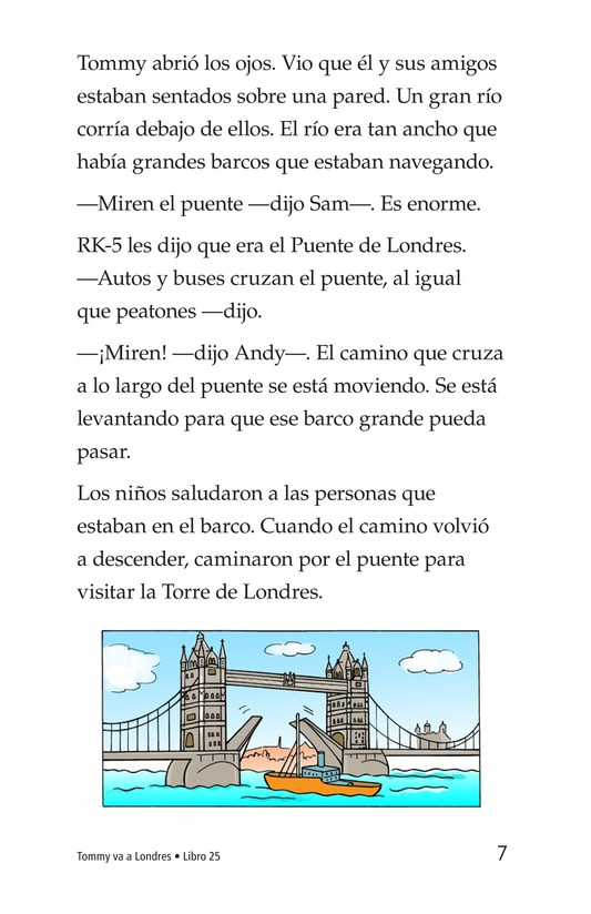 Book Preview For Tommy Goes to London Page 7